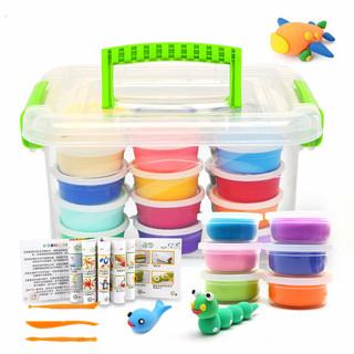 abay 粘土橡皮泥套装玩具彩泥玩具 12色彩盒