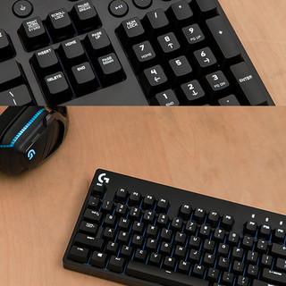 logitech 罗技 G610 104键 有线机械键盘 黑色 Cherry青轴 白光