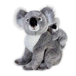 国家地理 澳洲系列 考拉母子 42cm +口罩140片
