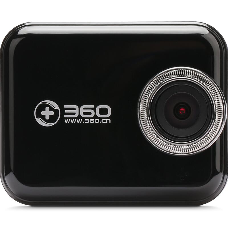 360 J501C 行车记录仪 单镜头 无卡 黑色