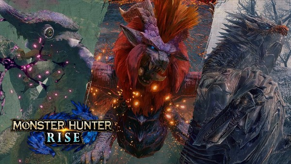 Nintendo 任天堂 港版/日版 Switch游戏主机 续航增强版 怪物猎人崛起限定