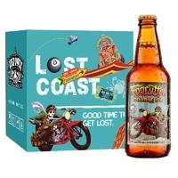 LOST COAST 迷失海岸 迷雾快艇 双倍IPA啤酒 355ml*6瓶