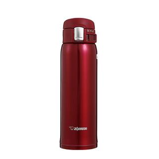 ZOJIRUSHI 象印 不锈钢真空杯系列 SM-SD48-RC 保温杯 480ml 透感红色