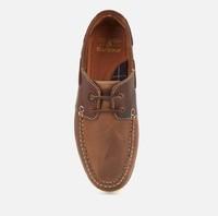 Capstan 男士皮船鞋