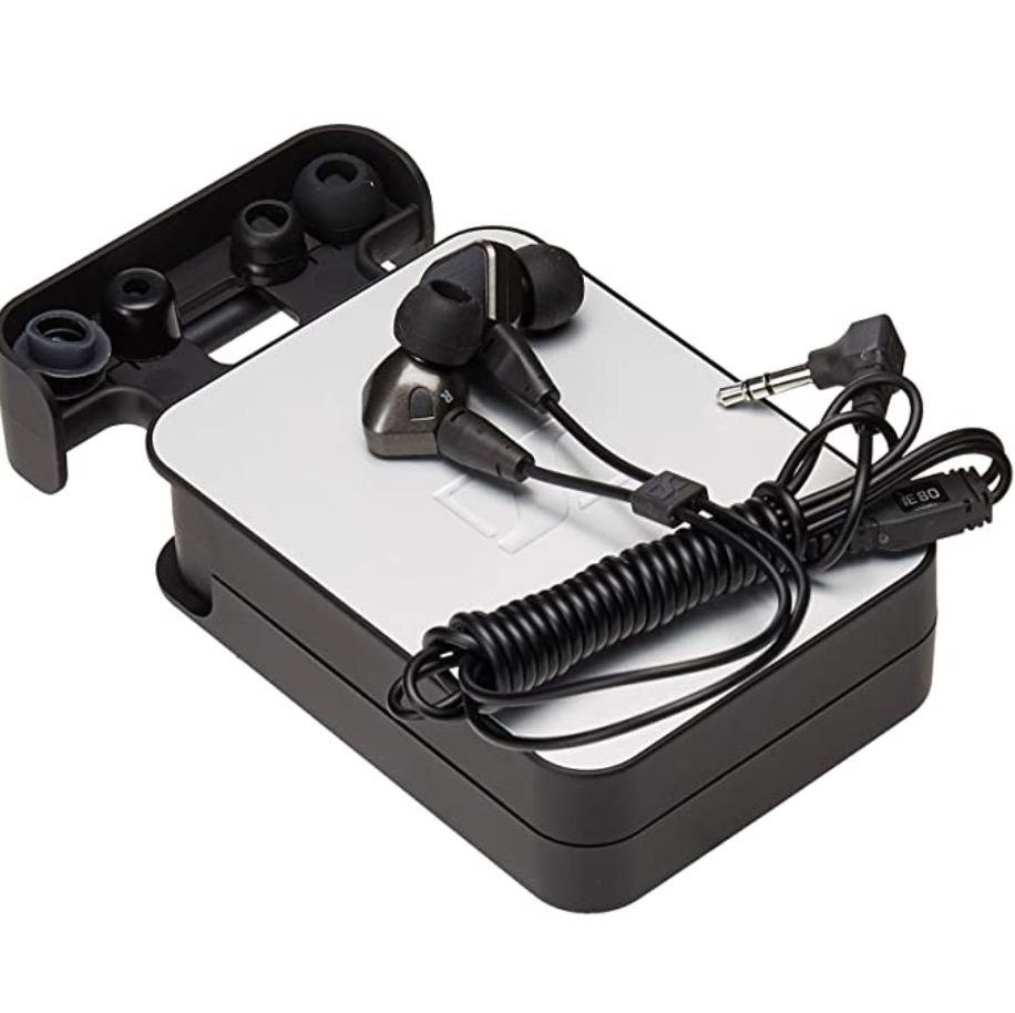 SENNHEISER 森海塞尔 IE80 入耳式有线耳机 黑色