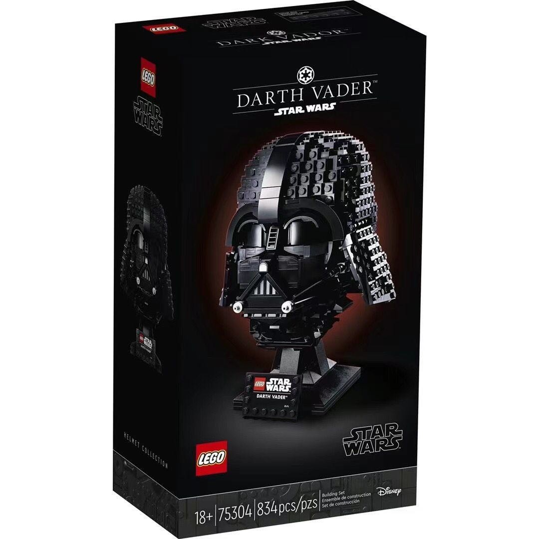 LEGO 乐高 Star Wars 星球大战系列 75304 达斯·维达
