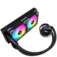 aigo 爱国者 银河 T240 240mm 一体式水冷散热器 RGB