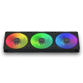 COOLERMASTER 酷冷至尊 MasterFan SF360R 120mm 机箱散热风扇 RGB