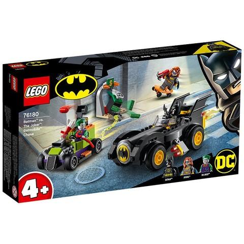 LEGO 乐高 超级英雄系列 76180 蝙蝠车大追击
