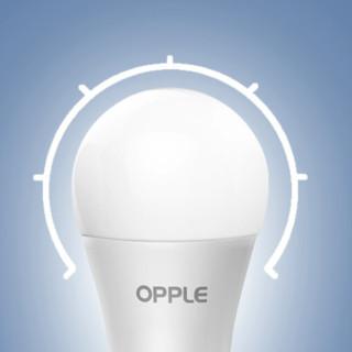 OPPLE 欧普照明 E27螺口灯泡 2.5W 白光 单只款