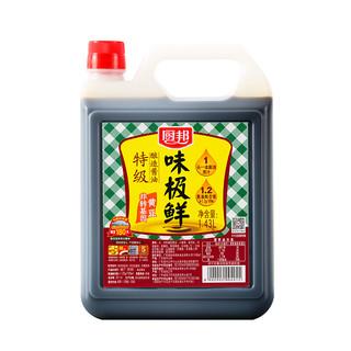 厨邦 味极鲜酱油  1.43L