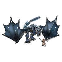 Prime会员:MEGA BLOKS 美高 GMN74 权力的游戏 冰龙 VS 雪诺