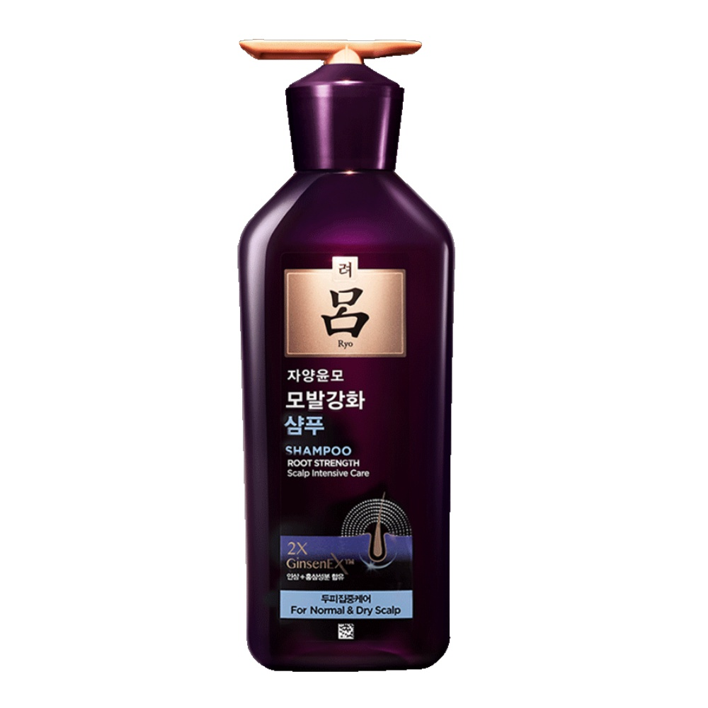 Ryo 吕 紫吕滋养韧发密集强韧洗发水 中干性发质 400ml