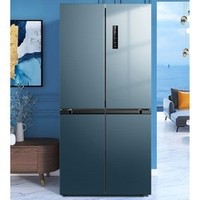 Midea 美的 果润精储系列 BCD-472WSPZM(E) 十字对开门冰箱 472升