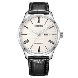 CITIZEN 西铁城  机械腕表系列 40.3毫米自动上链腕表 NH8350-08AB