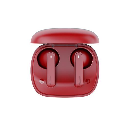 NetEase CloudMusic 网易云音乐  ME05TWS 半入耳式真无线动圈蓝牙耳机 辰砂红