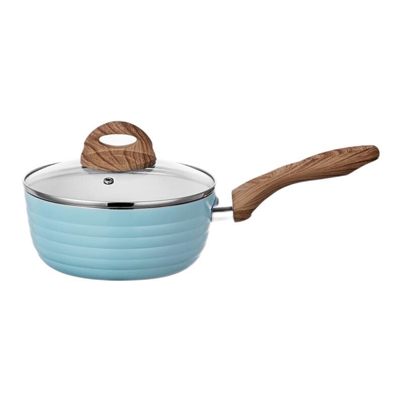 hommy 佳佰 奶锅(18cm、铝合金、蓝色)