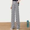 丝柏舍 S11T8125KA3018 女士时尚宽松显瘦长款休闲裤