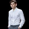 DaiShu 袋鼠 男士长袖衬衫 1B133261820 白色 2XL