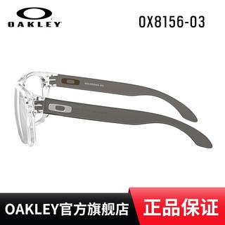 Oakley/欧克利时尚个性方框光学镜架OX8156 HOLBROOK