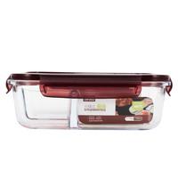 PLUS会员:TAFUCO 泰福高 玻璃饭盒 三隔 1.52L