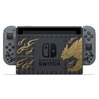 Nintendo 任天堂 Switch日版 游戏机 续航增强版 灰色(马里奥+塞尔达+无双+剑盾+健身环大冒险+怪物猎人崛起rise限定版)