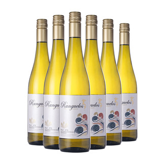 朗克鲁 美人鱼雷司令半甜白葡萄酒750ml*6六瓶整箱装德国原瓶进口