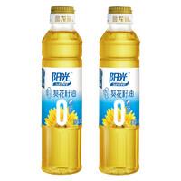 金龙鱼 阳光零反式脂肪葵花籽油 400ml*2