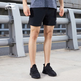 LI-NING 李宁 AKSQ071 男士运动短裤