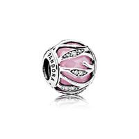 PANDORA 潘多拉 791969PCZ-A  粉红自然光芒手链串饰