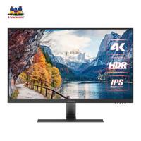 ViewSonic 优派 VX2771 27英寸IPS显示器(3840×2160、60Hz、99%sRGB、HDR10)