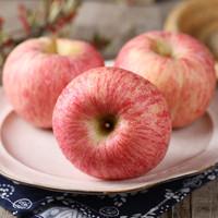山东烟台栖霞红富士苹果   80-85mm   5斤