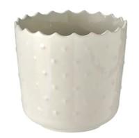 宜家 SESAMFRÖN 瑟萨姆夫吕恩 装饰用花盆 室内/户外 灰白 9 厘米