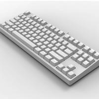 GANSS 迦斯 GS87D 双模机械键盘 cherry轴 白光版 白色