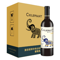 有券的上:Chilephant 智象 美露 干红葡萄酒 750ml*6瓶