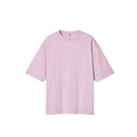 UNIQLO 优衣库 男女款圆领短袖T恤 435806 水粉色 XXXXL