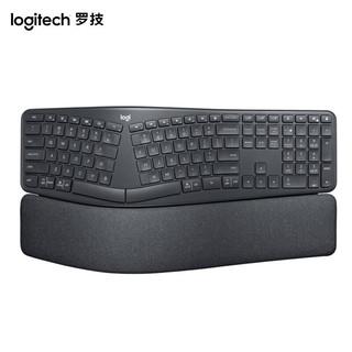logitech 罗技 ERGO K860 无线蓝牙键盘 黑色
