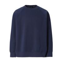 UNIQLO  优衣库 +J系列 男士圆领卫衣 437820 藏青色 L