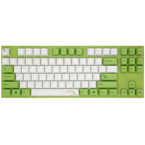 Varmilo 阿米洛 MA87森灵 机械键盘 87键 草木绿轴