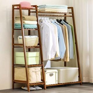 卧室落地挂衣架晾衣架家用置物架收纳柜