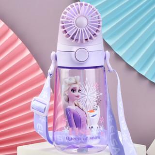 Disney 迪士尼 4452 可拆卸充电风扇便携吸管塑料杯