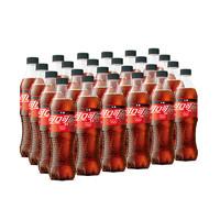 Coca-Cola 可口可乐 零度 无糖汽水 500ml*24瓶