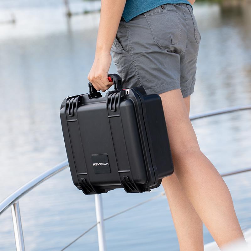 PGYTECH御2Pro安全箱防水用于大疆Mavic2 ZOOM配件保护收纳箱手提