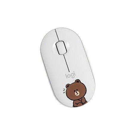 logitech 罗技 K380 蓝牙键盘 + Pebble 鼠标 LINE FRIENDS联名礼盒
