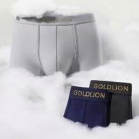 goldlion 金利来 80s长绒棉男士内裤 4条装