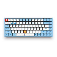 Akko 艾酷  3084 哔哩哔哩定制款 84键 有线机械键盘 蓝色 Cherry青轴 无光