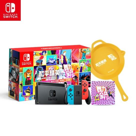 Nintendo 任天堂 国行switch游戏标准版《舞力全开》五月更新Let It Go中文版《随它吧》