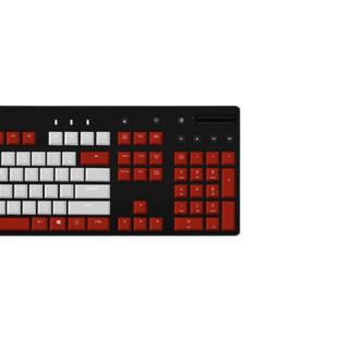 logitech 罗技 G610 104键 有线机械键盘 红白 Cherry红轴 单光