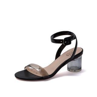 BASTO 百思图  RGLMB601DU1BL9 女士凉鞋