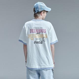 GUUKA 古由卡 可口可乐联名款 男士圆领短袖T恤 F3217